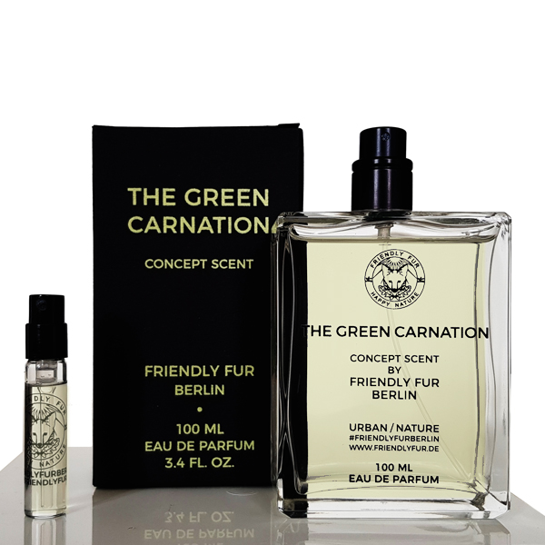 Friendly Fur Shop Perfume The Green Carnation Sleek and Chic Concept Scent Group